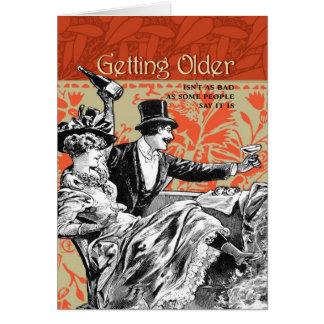 より古くなることは悪い状態としてありません カード