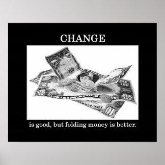 より変更あよしかし折お金あよい ポスター