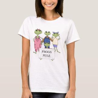 より多くのカエルの規則のTシャツおよびギフト Tシャツ