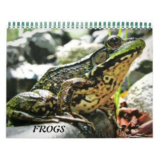より多くのカエル! カレンダー