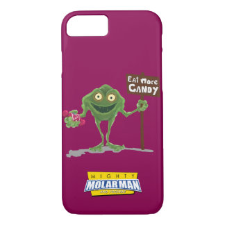 """""""より多くのキャンデー""""の細菌のBoy®のiPhone 7の場合食べて下さい iPhone 8/7ケース"""