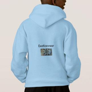 より多くのタランチュラ、お願いします! -子供のフード付きスウェットシャツ