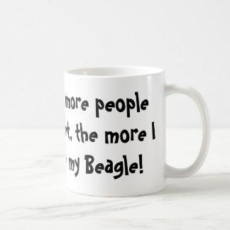 より多くの人々私はマグに会います コーヒーマグカップ