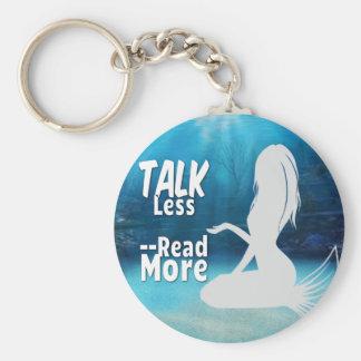 より多くの人魚を読んで下さい キーホルダー