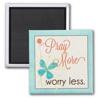 より多くの心配をより少ないカスタムな磁石祈って下さい マグネット