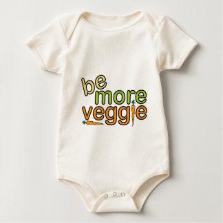 より多くの野菜があって下さい ベビーボディスーツ