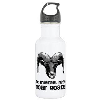 より多くのGoatz ウォーターボトル