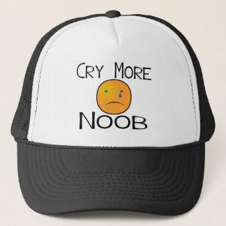 より多くのNoobは叫びます キャップ
