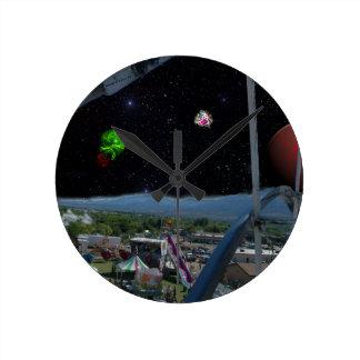より大きいカーニバル ラウンド壁時計