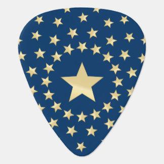 より小さい星によって一周される大きい金星 ギターピック