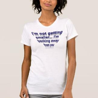より小さい… Tシャツを得ないこと Tシャツ