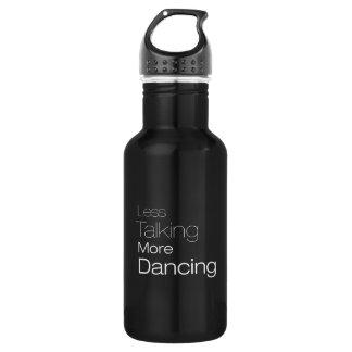 より少なくより多くの踊りを話すこと ウォーターボトル