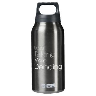 より少なくより多くの踊りを話すこと 断熱ウォーターボトル