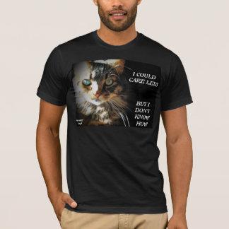 より少なく気になる方法を知らないで下さい Tシャツ