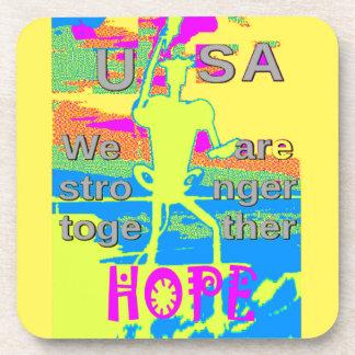 より強いベスト米国の希望ヒラリー一緒に コースター