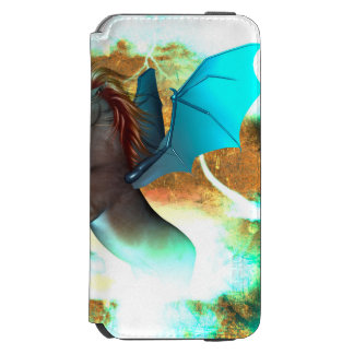 より手とのすばらしく暗いユニコーン INCIPIO WATSON™ iPhone 5 財布型ケース