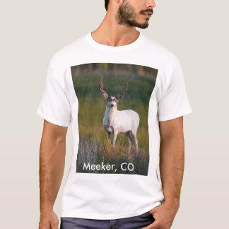より柔和で白いシカ2 Tシャツ