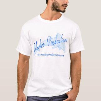 より柔和な生産のイルカのグラフィック Tシャツ