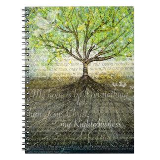 より深い根のノート ノートブック