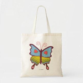 より深い芸術のゼリー菓子の蝶バッグ トートバッグ