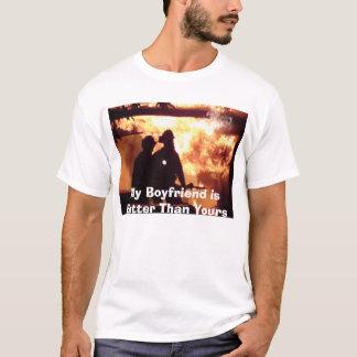 より熱い私のボーイフレンド Tシャツ