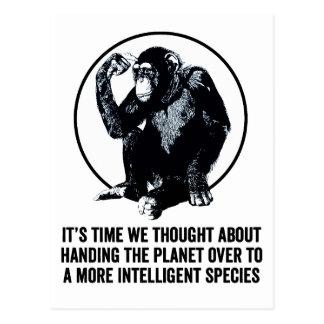 より知性があるな種 ポストカード