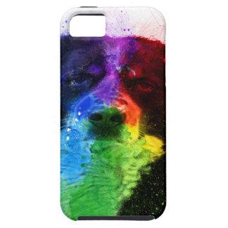 より素晴らしいスイス人の/Bernese山犬色のブロック iPhone SE/5/5s ケース
