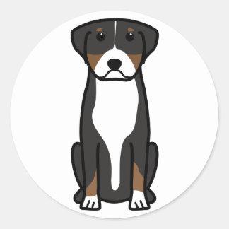 より素晴らしいスイス山犬の漫画 ラウンドシール