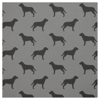 より素晴らしいスイス山犬はパターンのシルエットを描きます ファブリック
