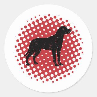 より素晴らしいスイス山犬 ラウンドシール