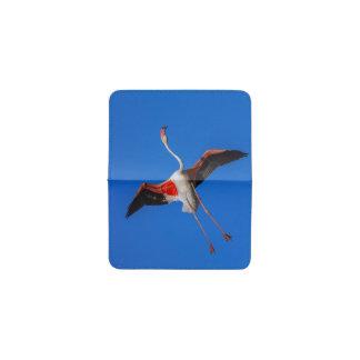 より素晴らしいフラミンゴ、phoenicopterusのroseus 名刺入れ