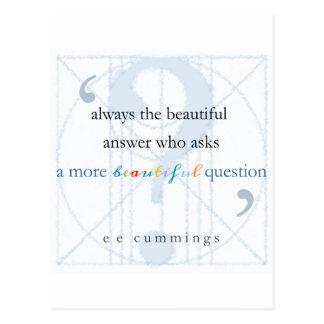 より美しい質問 ポストカード