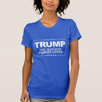 より速いF--えー甲革-アンチ切札の印 -- 反 Tシャツ