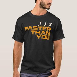 """""""より速く"""" Tシャツ"""