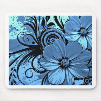 より青い花 マウスパッド