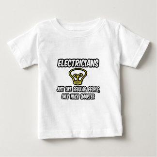 より頭が切れるなだけ電気技師の…規則的な人々、 ベビーTシャツ