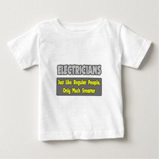 より頭が切れるな電気技師… ベビーTシャツ