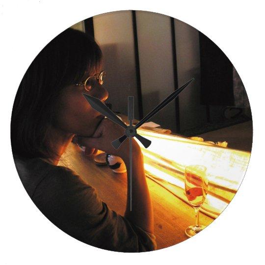 りえちゃん きみのじかん展 Firenze ラージ壁時計