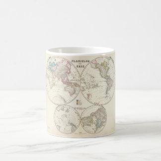 りっぱな世界地図9 コーヒーマグカップ
