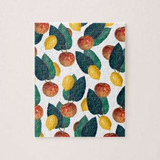 りんごおよびレモン ジグソーパズル