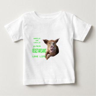 りんごかスマイル ベビーTシャツ