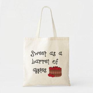 りんごとして菓子 トートバッグ
