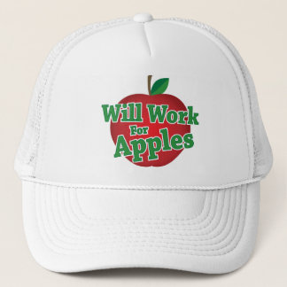 りんごのために働きます キャップ