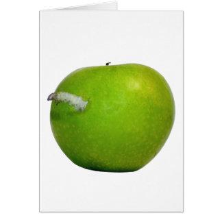 りんごのみみず カード