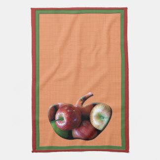 りんごのアメリカ人のMojoの台所タオル キッチンタオル