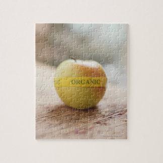 りんごのオーガニックなステッカー ジグソーパズル