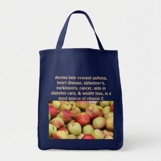 りんごのバッグ トートバッグ