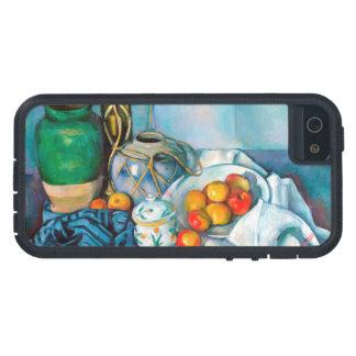 りんごのポールCézanneの絵画の食糧が付いている静物画 iPhone SE/5/5s ケース