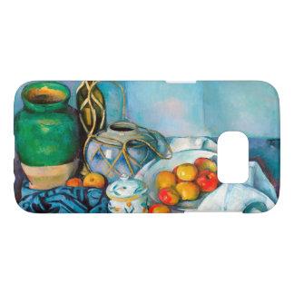 りんごのポールCézanneの絵画の食糧が付いている静物画 Samsung Galaxy S7 ケース
