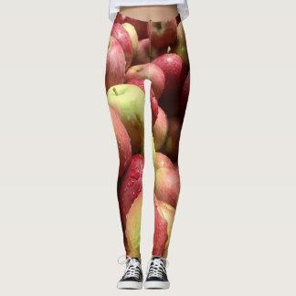 りんごのレギンス レギンス